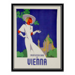 Summer days in Vienna Print