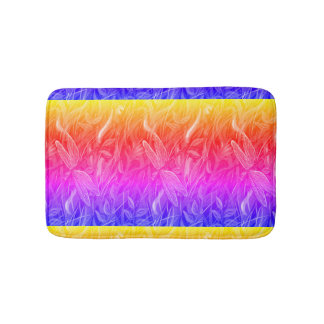 Summer Dragonfly Bath Mat Bath Mats