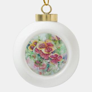 Summer dream ceramic ball decoration