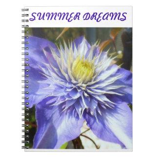 summer dreams notebooks