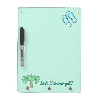 Summer Dry Erase Message Board
