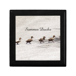 """Summer Ducks"" Trinket Box"