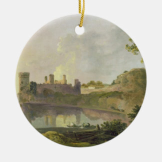 Summer Evening (Caernarvon Castle) c.1764-65 (oil Christmas Ornament