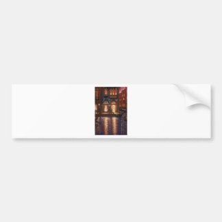 Summer Evening in Venice Bumper Sticker