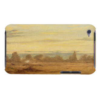 Summer - Evening Landscape (oil on canvas) iPod Case-Mate Cases