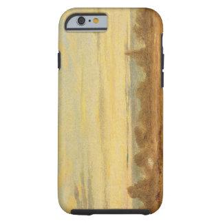 Summer - Evening Landscape (oil on canvas) Tough iPhone 6 Case