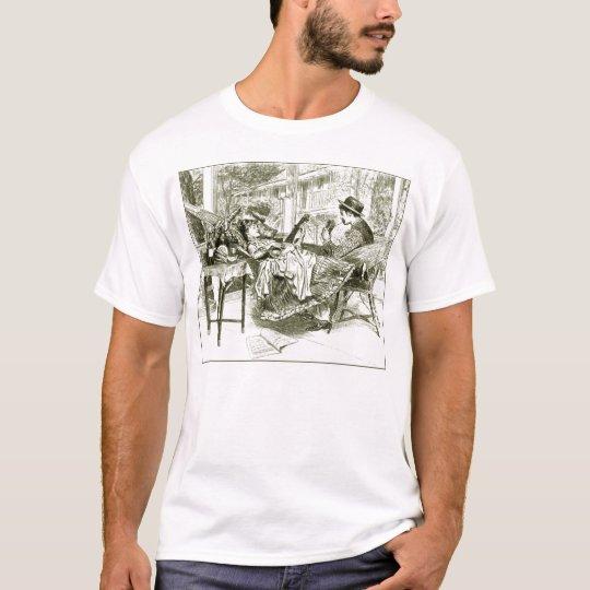 Summer Evening Men's light short Selleve T-Shirt