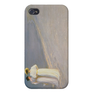 Summer Evening on the Skagen Southern Beach iPhone 4 Case