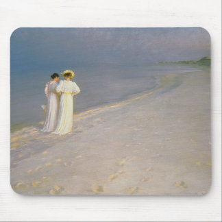 Summer Evening on the Skagen Southern Beach Mouse Mat