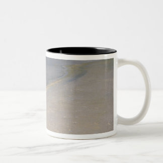 Summer Evening on the Skagen Southern Beach Two-Tone Coffee Mug