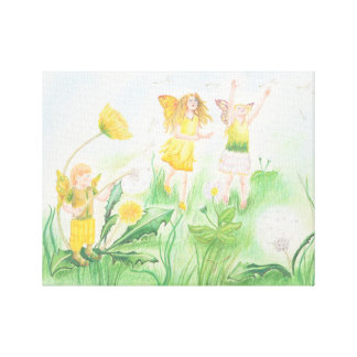 Summer Faeries Canvas Print