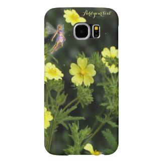 Summer fairy garden Galaxy phone case