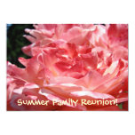 "Summer Family Reunion! Invitation Cards Roses 5"" X 7"" Invitation Card"