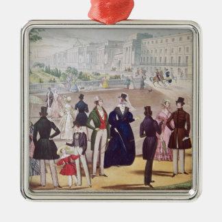 Summer Fashions for 1840 Christmas Ornament