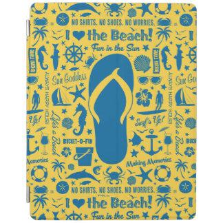 Summer Flip Flop Pattern iPad Cover