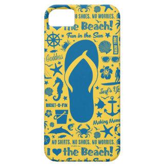 Summer Flip Flop Pattern iPhone 5 Case