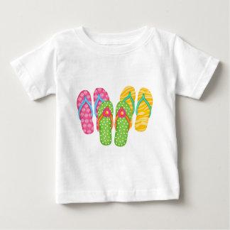 Summer Flip Flops Baby T-Shirt