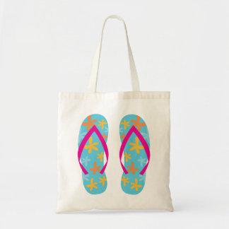 Summer Flip Flops Budget Tote Bag