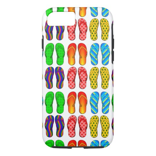 Summer Flip Flops Fun Beach Theme iPhone 7