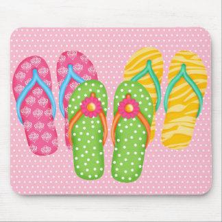 Summer Flip Flops Mouse Mat