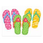 Summer Flip Flops Postcards