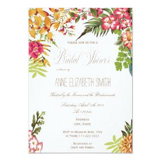 Summer floral Bridal Shower Invitation
