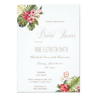 Summer floral Bridal Shower Invitation II