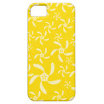 Summer Floral Design. Sunny Yellow. Case For The iPhone 5