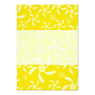 Summer Floral Design. Sunny Yellow. Announcements