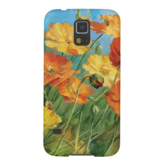 Summer Floral Field Galaxy S5 Cover