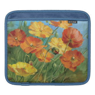 Summer Floral Field iPad Sleeve