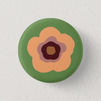 Summer Floral Garden 3 Cm Round Badge