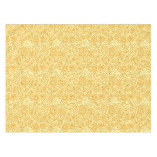 Summer floral pattern in warm colors tablecloth