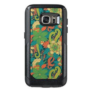 Summer floral pattern OtterBox samsung galaxy s7 case