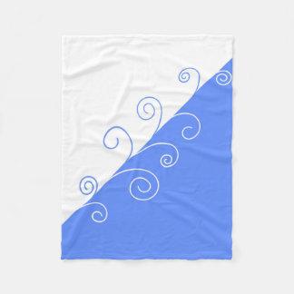 Summer Flow Fleece Blanket
