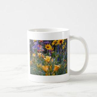 Summer flower garden fun colorful pretty photo coffee mug