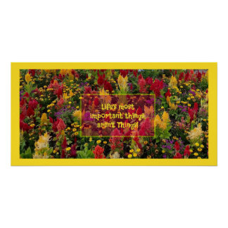 Summer Flower Garden Orlando Inspirational Quote