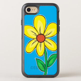 Summer Flower Illustration OtterBox Symmetry iPhone 8/7 Case