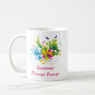 Summer Flower Power Classic Mug