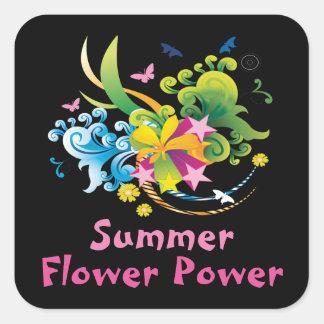 Summer Flower Power Stickers