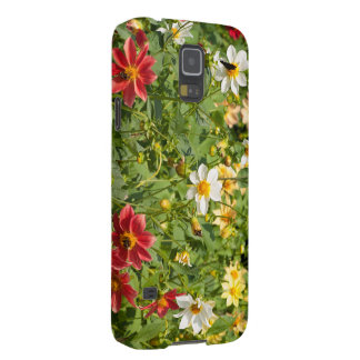 Summer flowers cases for galaxy s5