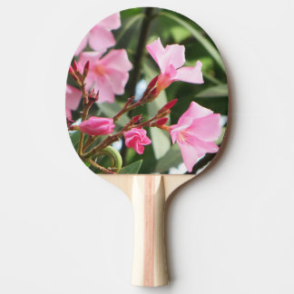 Summer Flowers double-sided Ping Pong Paddle