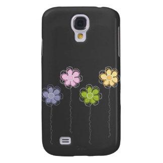 Summer Flowers Galaxy S4 Case