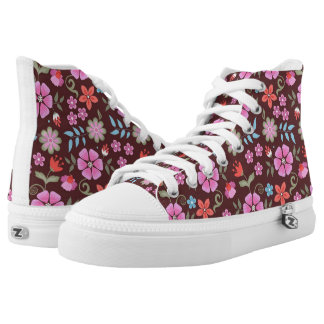 Summer Flowers High Tops