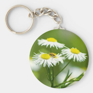 Summer flowers key chains