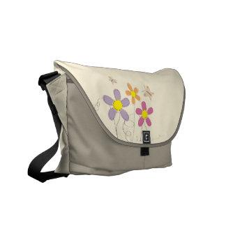 Summer Flowers Messenger Bag