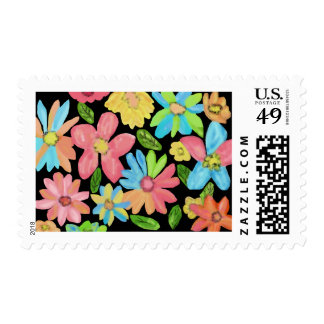 Summer Flowers Postage Stamps