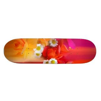 Summer flowers. skate board decks