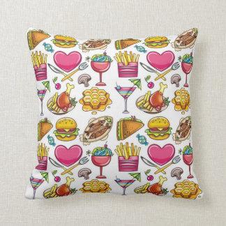 Summer Foods Cushion