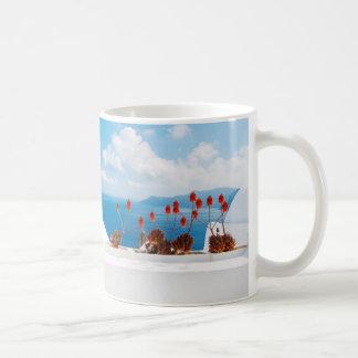 Summer Forever- Inspirational Santorini Island Mug